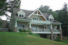 Craftsman Exterior - Rear Elevation Plan #928-21