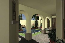 House Plan Design - Mediterranean Exterior - Other Elevation Plan #930-434
