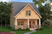 Home Plan - Bungalow Exterior - Front Elevation Plan #419-297
