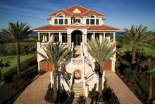 Home Plan - Mediterranean Exterior - Front Elevation Plan #929-900