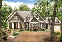Dream House Plan - Ranch Exterior - Front Elevation Plan #54-365