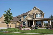 House Plan Design - Country Exterior - Front Elevation Plan #51-1082