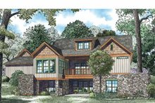 Country Exterior - Rear Elevation Plan #17-3349