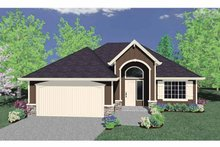 Mediterranean Exterior - Front Elevation Plan #509-225