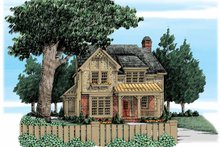 Home Plan - European Exterior - Front Elevation Plan #927-320