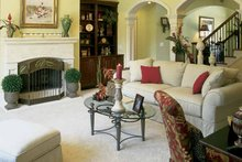 Country Interior - Family Room Plan #927-854