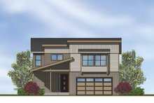 Contemporary Exterior - Front Elevation Plan #569-15