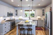 Craftsman Interior - Kitchen Plan #929-14