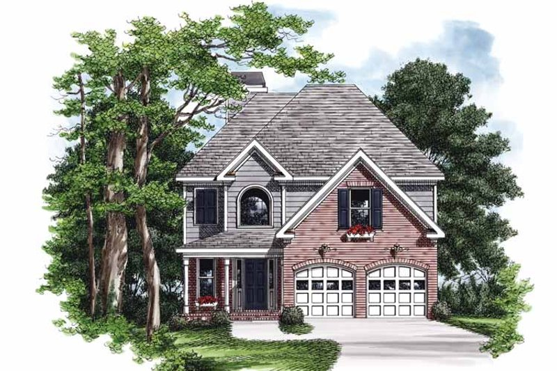 Dream House Plan - Country Exterior - Front Elevation Plan #927-711
