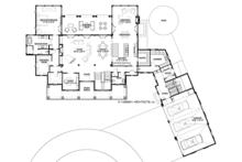 Country Floor Plan - Main Floor Plan Plan #928-285