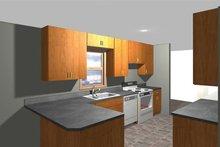 Ranch Interior - Kitchen Plan #1061-35