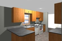 House Plan Design - Ranch Interior - Kitchen Plan #1061-35