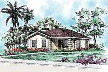 House Blueprint - Craftsman Exterior - Front Elevation Plan #72-1038