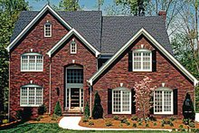 Traditional Exterior - Front Elevation Plan #453-154