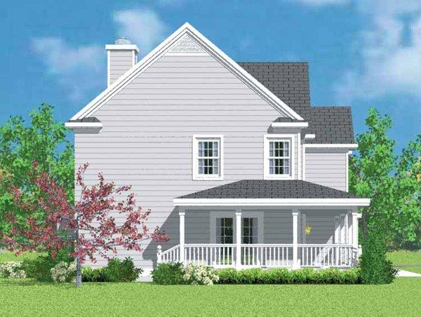 Country Floor Plan - Other Floor Plan Plan #72-1101