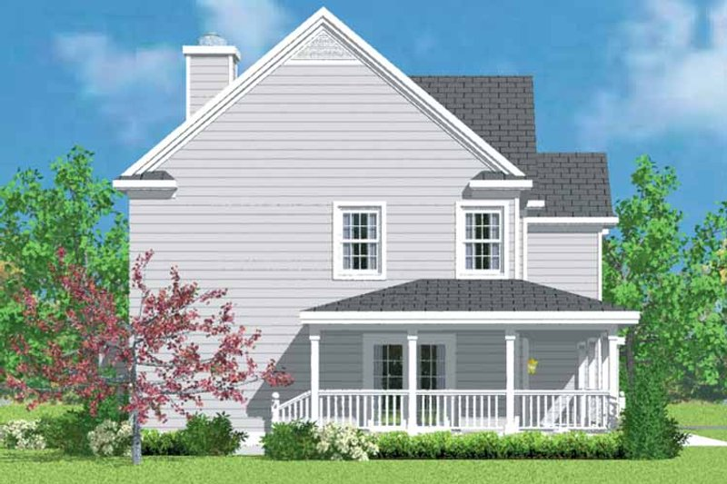 House Design - Country Exterior - Other Elevation Plan #72-1101