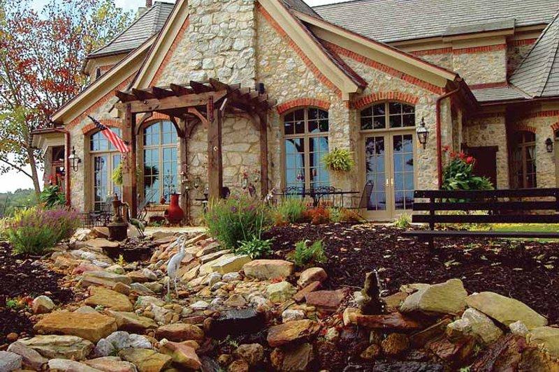 Country Exterior - Rear Elevation Plan #453-402 - Houseplans.com