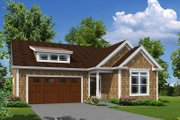 Cottage Style House Plan - 3 Beds 2 Baths 1762 Sq/Ft Plan #57-625 Exterior - Front Elevation