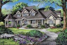 Architectural House Design - Victorian Exterior - Front Elevation Plan #929-823