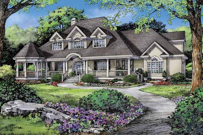 Dream House Plan - Victorian Exterior - Front Elevation Plan #929-823