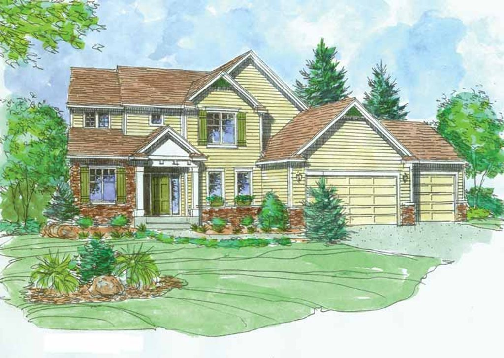 2476 Square Feet 3 Bedroom 2 5 Bathroom 3 Garage Craftsman 43247 on Designs For 225 Square Feet