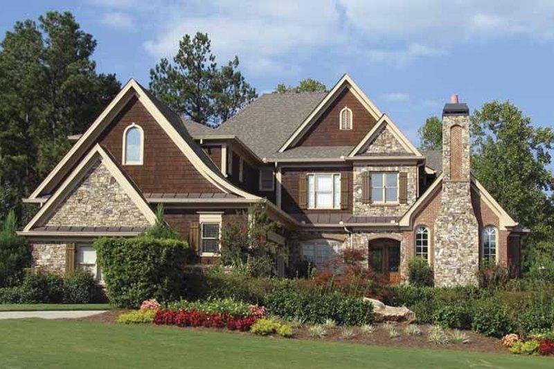 Home Plan - Craftsman Exterior - Front Elevation Plan #54-285