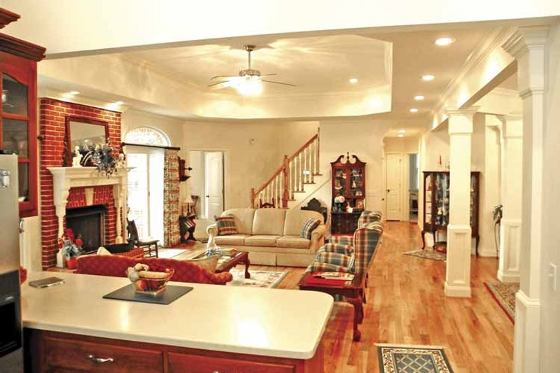 Country Interior - Kitchen Plan #314-230 - Houseplans.com