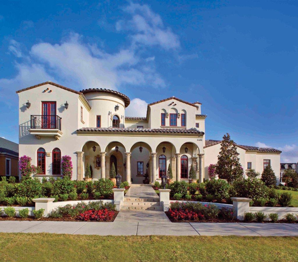 House Plans Mediterranean Style: Mediterranean Style House Plan