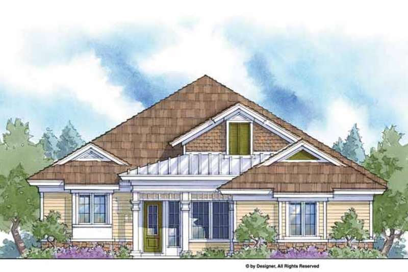 Country Exterior - Front Elevation Plan #938-5 - Houseplans.com
