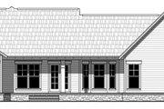 Craftsman Style House Plan - 3 Beds 2 Baths 1619 Sq/Ft Plan #21-398
