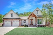 Country Style House Plan - 4 Beds 2 Baths 2281 Sq/Ft Plan #430-194 Exterior - Front Elevation