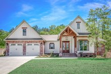 House Plan Design - Country Exterior - Front Elevation Plan #430-194
