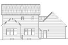 House Plan Design - Craftsman Exterior - Rear Elevation Plan #1010-114