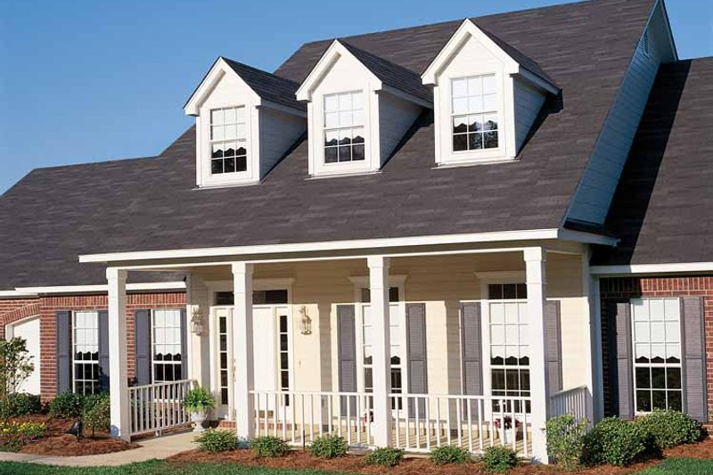 Country Exterior - Front Elevation Plan #406-9626 - Houseplans.com