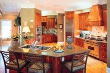 Classical Interior - Kitchen Plan #45-413