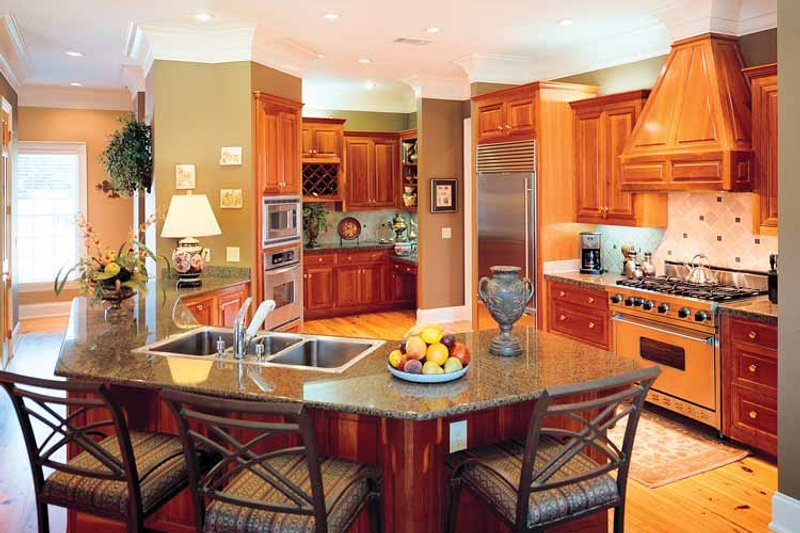 Classical Interior - Kitchen Plan #45-413 - Houseplans.com