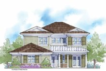 Country Exterior - Front Elevation Plan #938-7