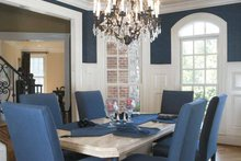 House Plan Design - Mediterranean Interior - Dining Room Plan #927-202