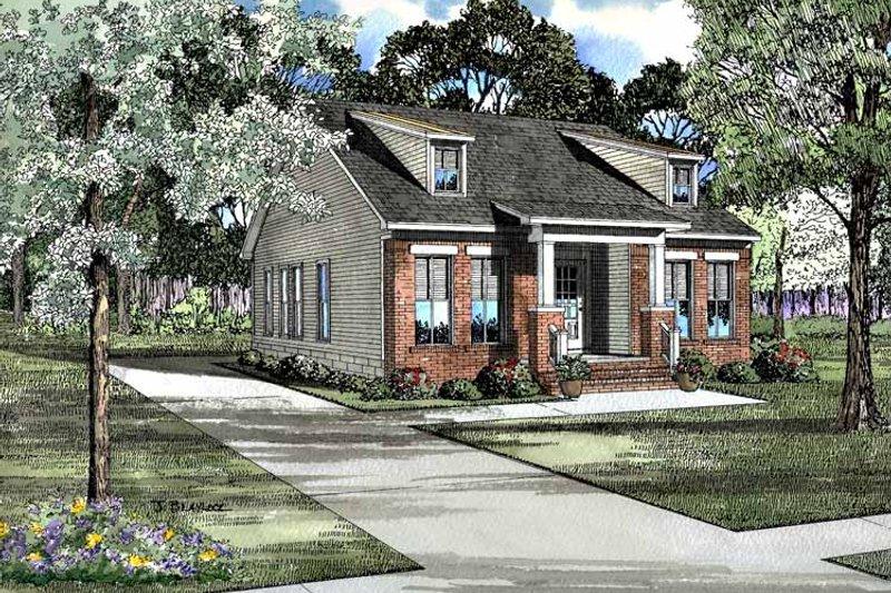 Craftsman Exterior - Front Elevation Plan #17-3101 - Houseplans.com