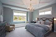 Traditional Style House Plan - 4 Beds 3.5 Baths 3677 Sq/Ft Plan #928-271 Interior - Master Bedroom