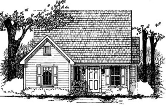 Traditional Exterior - Front Elevation Plan #43-101