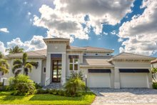 Dream House Plan - Contemporary Exterior - Front Elevation Plan #930-504