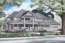 House Plan Design - Victorian Exterior - Front Elevation Plan #17-2099