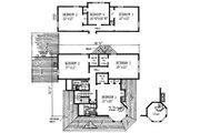 Victorian Style House Plan - 4 Beds 2.5 Baths 2056 Sq/Ft Plan #315-103 Floor Plan - Upper Floor Plan