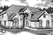 Traditional Style House Plan - 4 Beds 2.5 Baths 2538 Sq/Ft Plan #329-258 Exterior - Front Elevation