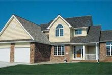 Home Plan - Traditional Exterior - Front Elevation Plan #20-264