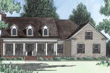 Farmhouse Exterior - Front Elevation Plan #1054-4