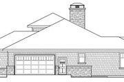Prairie Style House Plan - 3 Beds 3.5 Baths 3394 Sq/Ft Plan #124-821 Exterior - Other Elevation
