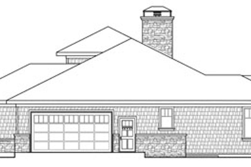 Prairie Exterior - Other Elevation Plan #124-821 - Houseplans.com