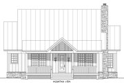 Cabin Style House Plan - 3 Beds 3.5 Baths 1973 Sq/Ft Plan #932-48 Exterior - Other Elevation